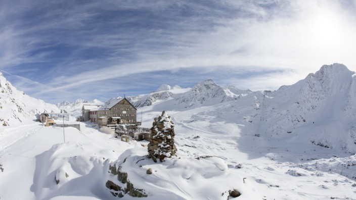 Schöne-Aussicht-Hütte Tirol Österreich