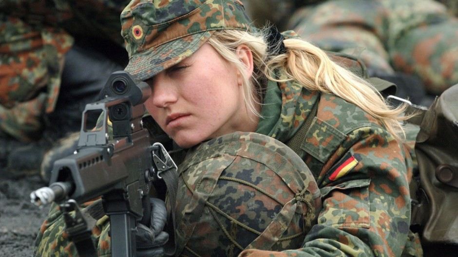 Frauen bei der Bundeswehr