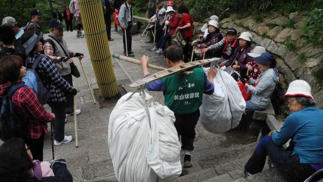 China wie gemalt - Wanderung im Huangshan-Gebirge in China