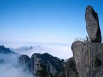 Die Unesco erklärte das Huangshan-Gebirge zum Weltnaturerbe.