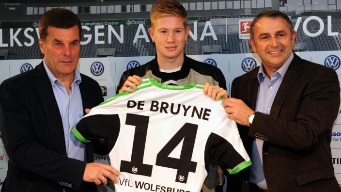 VfL Wolfsburg - Vorstellung de Bruyne