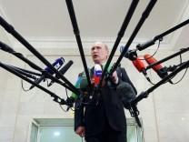 Russlands Präsident Putin und die Medien