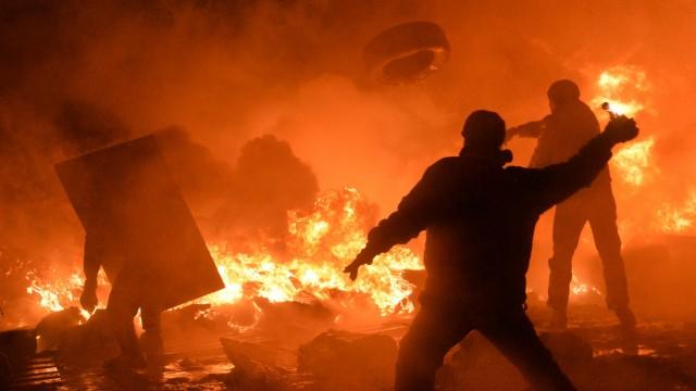 Proteste in der Ukraine Proteste in Kiew