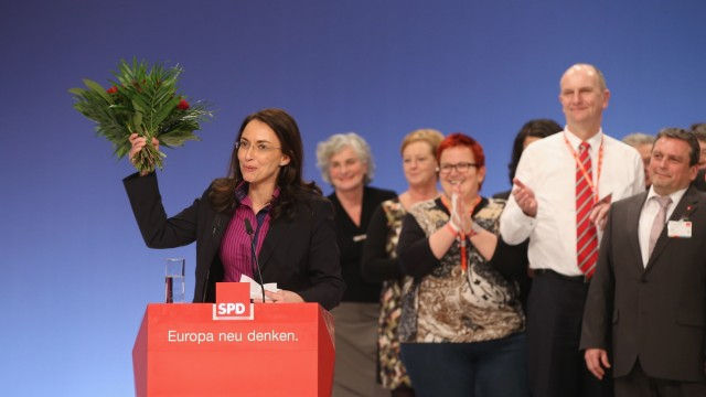 Yasmin Fahimi: neue Generalsekretärin der SPD