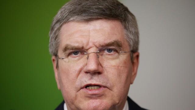 IOC President Thomas Bach visits Rio de Janeiro, Brazil