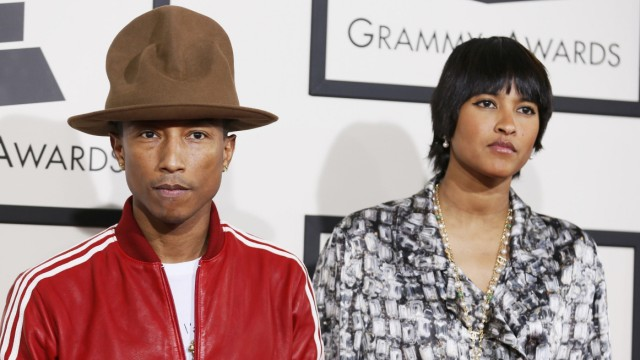Pharrell Williams bei den Grammys 2014