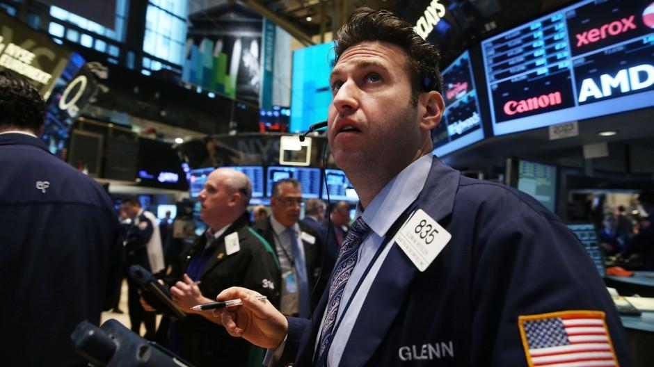 Händler an der Börse in New York