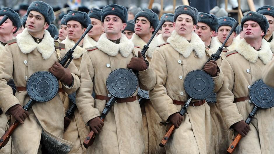 Zweiter Weltkrieg Erinnerung an die Belagerung Leningrads