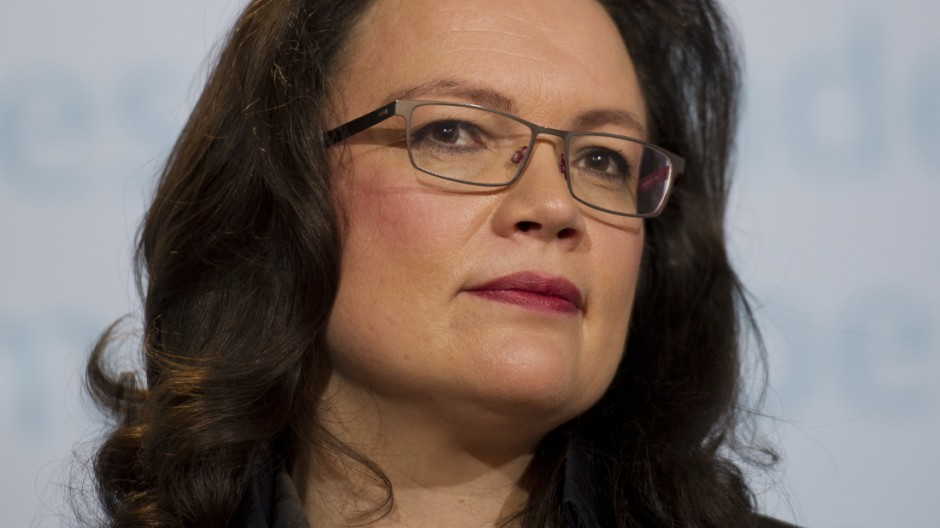 Statement Andrea Nahles