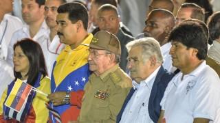 CUBA-POLITICS-VENEZUELA-URUGUAY-BOLIVIA-MARTI
