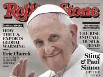 Papst Franziskus auf 'Rolling Stone'-Titel