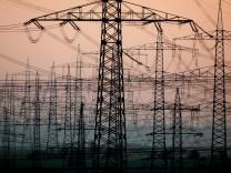 Strommasten - Klimaschutz
