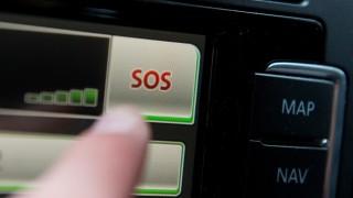 Notrufsystem eCall in Autos.
