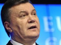 Ukraine - Praesident Viktor Janukowitsch im Portraet