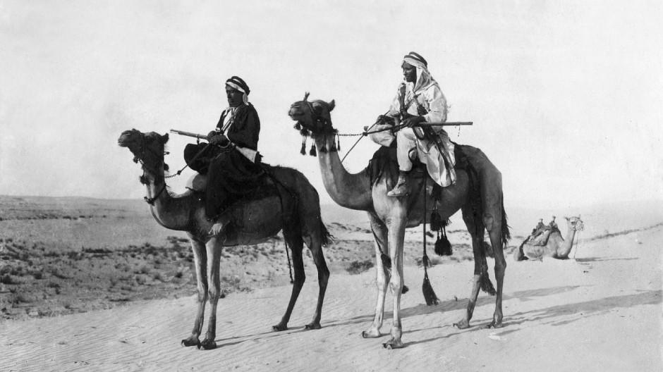 Beduinenpatrouille im ersten Weltkrieg
