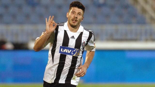 27 11 2013 Belgrade Serbia Men s football Milos Jojic FK Partizan Stringer PUBLICATIONxNOTxINxSER