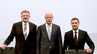 Andreas Renschler, Dieter Zetsche und Bodo Uebber.