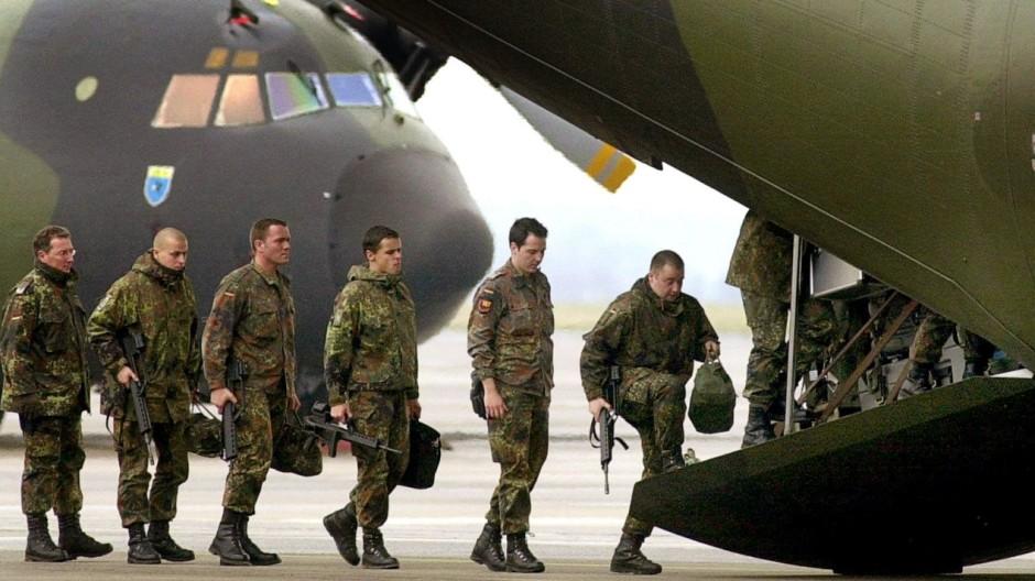 Auslandseinsatz der Bundeswehr