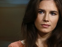 Amanda Knox appears on NBC News' 'Today' show in New York, in this image released by NBC