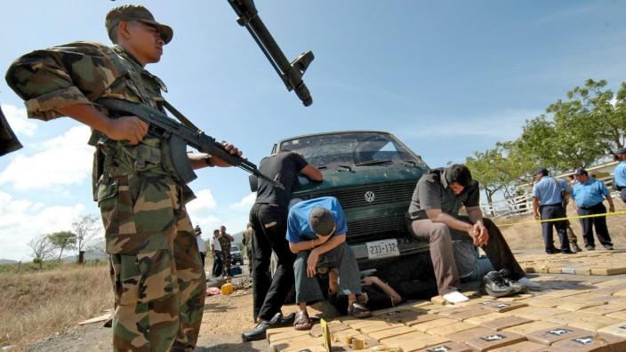 Drogentransport in Nicaragua unterbunden
