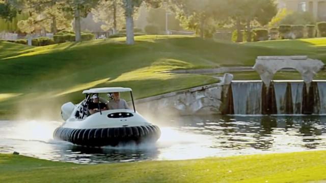 Golf-Luftkissen-Caddy