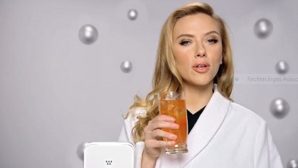 Scarlett Johansson für Sodastream