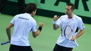 Davis Cup Haas Und Kohlschreiber Besiegen Spanien Sport