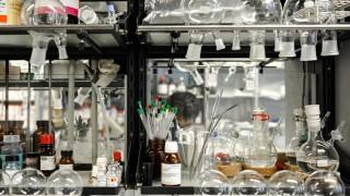 Labor in der Chemie-Fakultät der LMU in München, 2013
