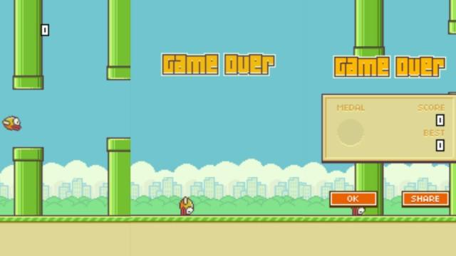Screenshot Flappy Bird