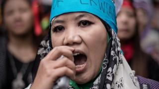Hausangestellte Gewalt gegen Haushaltshilfen in Hongkong