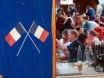 Französische Woche auf dem Kirchplatz