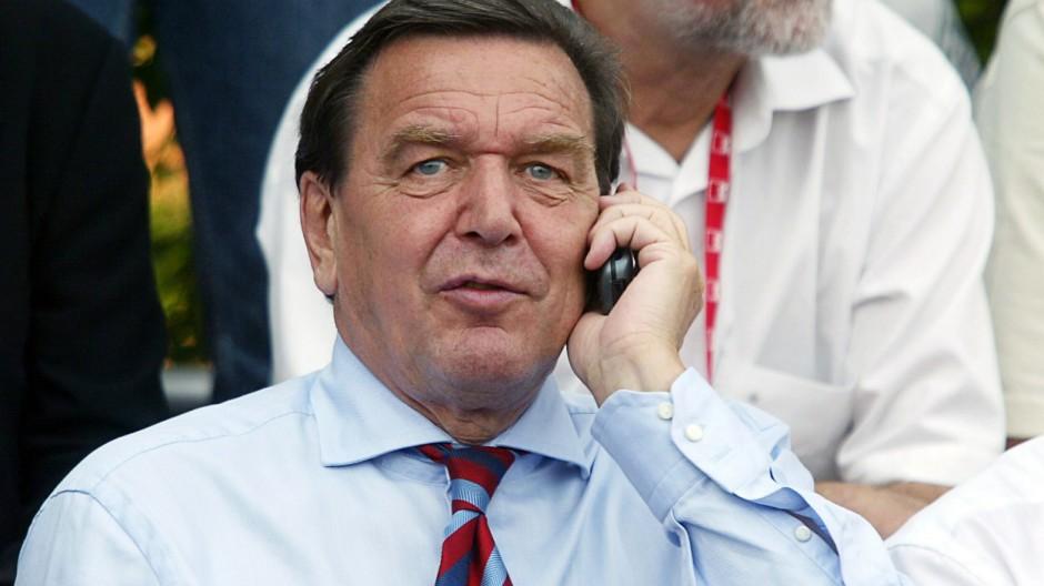 Internet-Überwachung Schröder im Visier der NSA