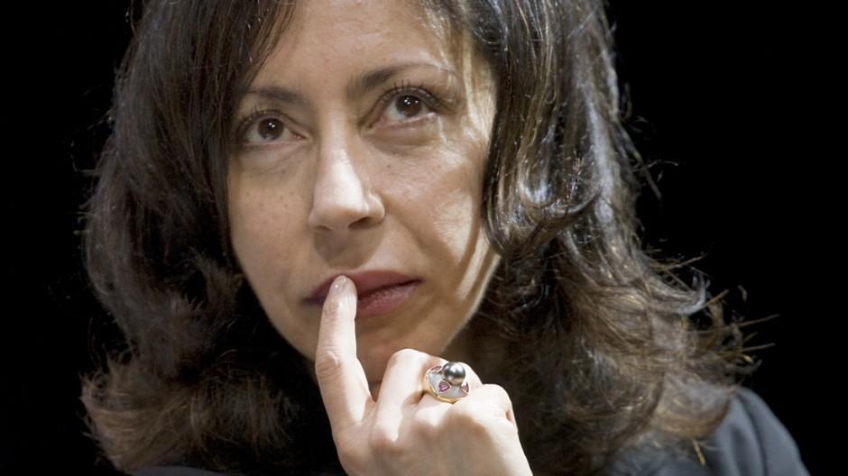 Schritstellerin Yasmina Reza