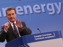 European Commissioner for Energy  Oettinger