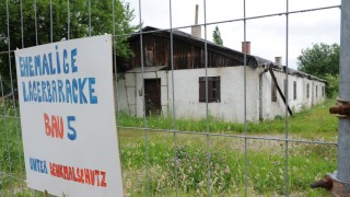 Rundweg im einstigen Zwangsarbeiterlager in Aubing, 2010