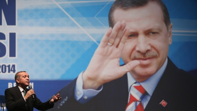 Turkish Prime Minister Erdogan Holds Rally In Berlin