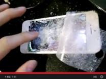 zerstörtes iPhone