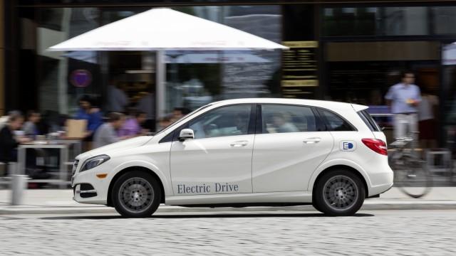 Mercedes B-Klasse Electric Drive Mercedes B-Klasse Electric Drive