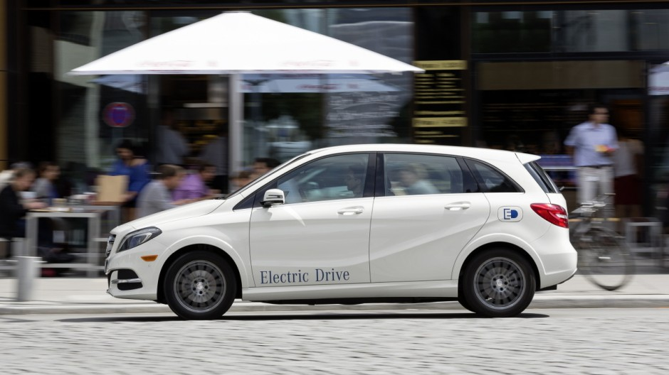 Mercedes B-Klasse Electric Drive Mercedes B-Klasse Electric Drive