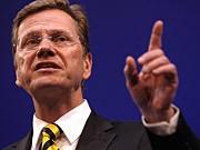 Außenminister Westerwelle Außenminister Westerwelle FDP ddp