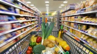 einkaufwagen lebensmittel supermarkt