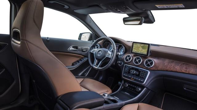 Der Innenraum des Mercedes GLA