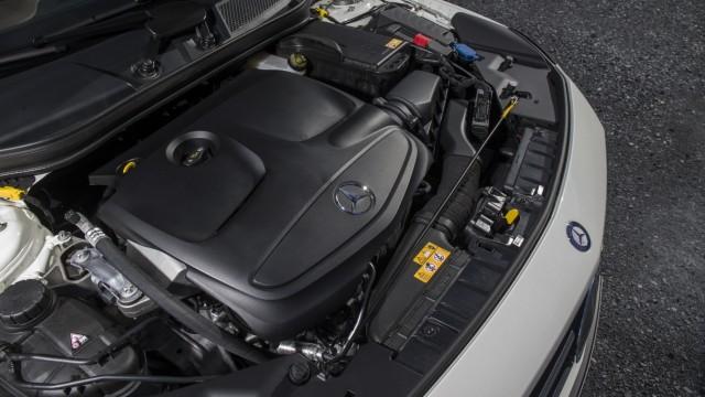 Der Motor des Mercedes GLA