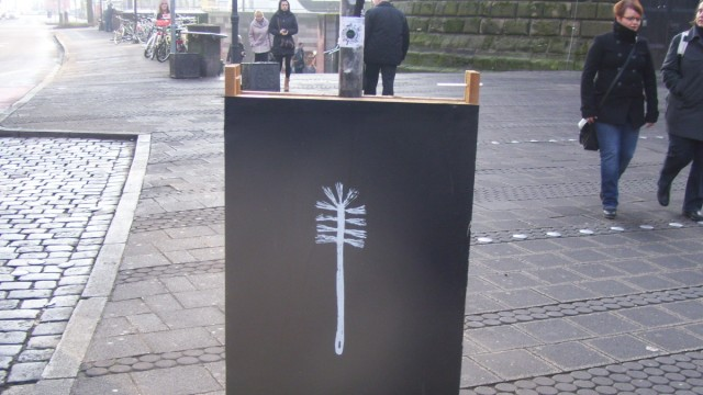 Wahlplakate in Nürnberg