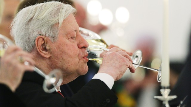 Helmut Schmidt Birthday Dinner