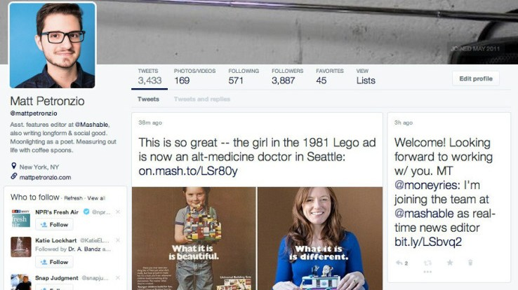 Kachel layout  Twitter testet neues Layout - Kacheln statt Timeline - Digital ...