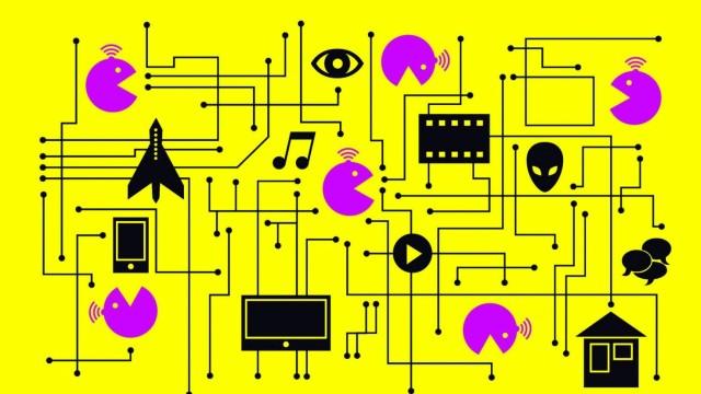 Illustration Internet der Dinge