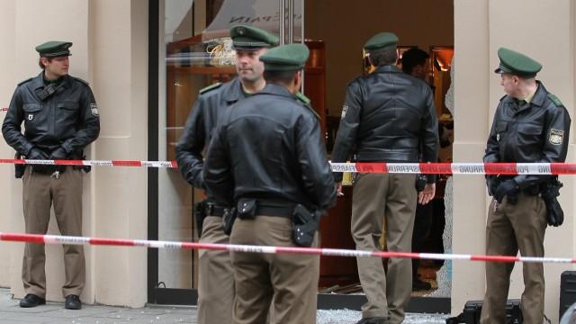 Maximilianstraße Überfall auf Juwelier