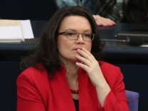 Arbeitsministerin Andrea Nahles