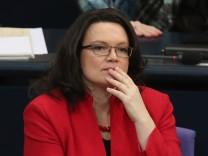 Arbeitsministerin Andrea Nahles